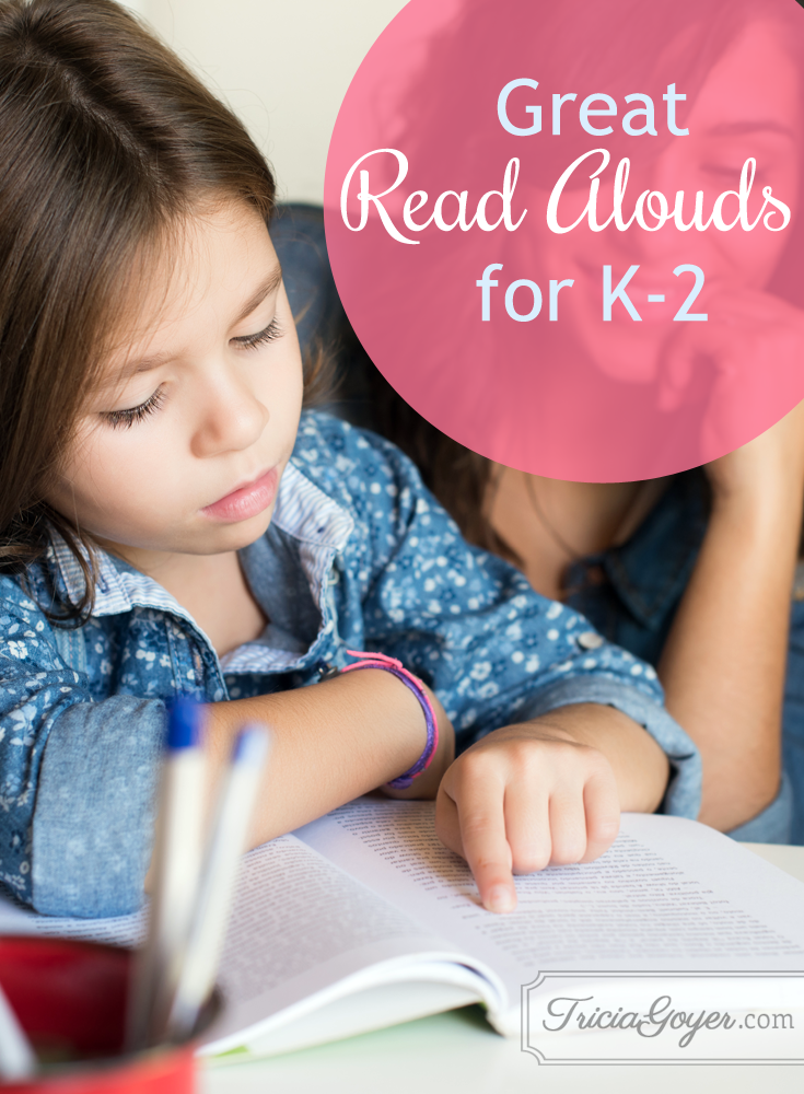 Great read alouds for k-2