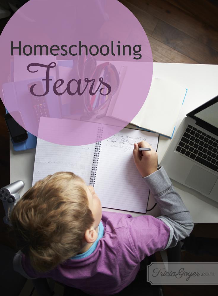 Homeschooling Fears - triciagoyer.com