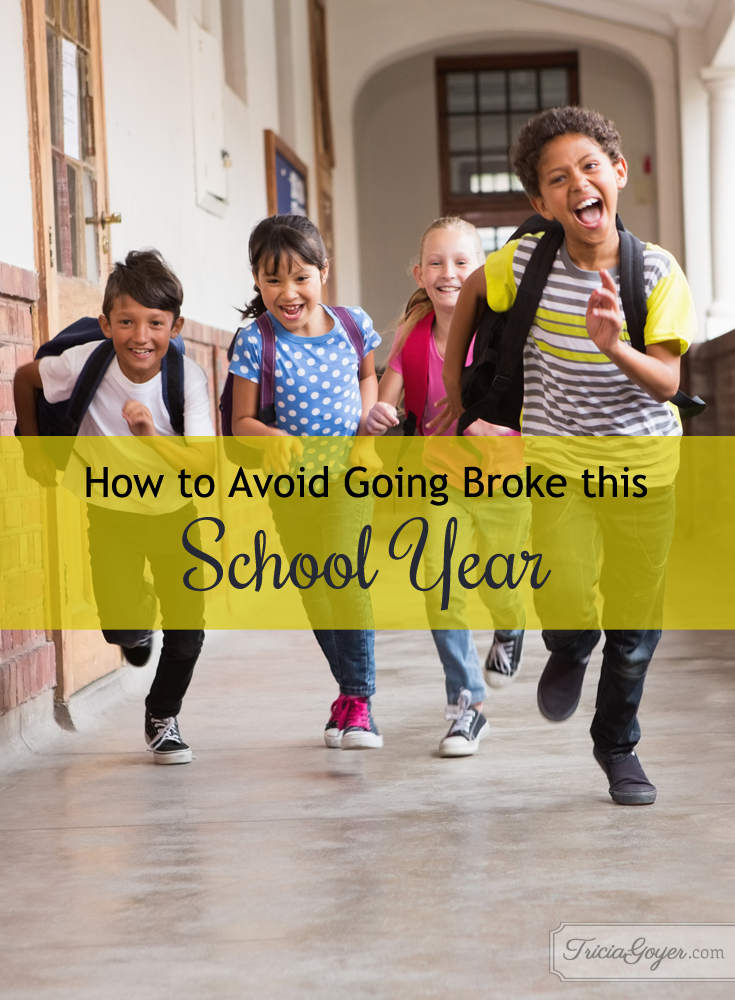 How to Avoid Going Broke this School Year {by Jessi Fearon}