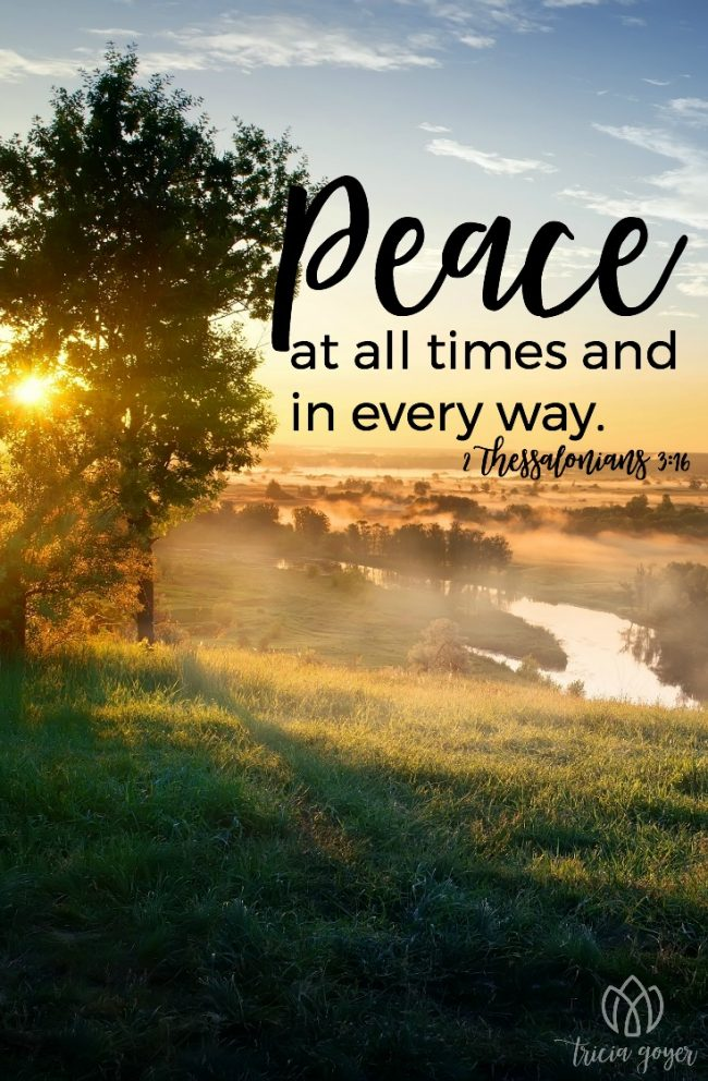Peace in Every Way | 2 Thessalonians 3:16