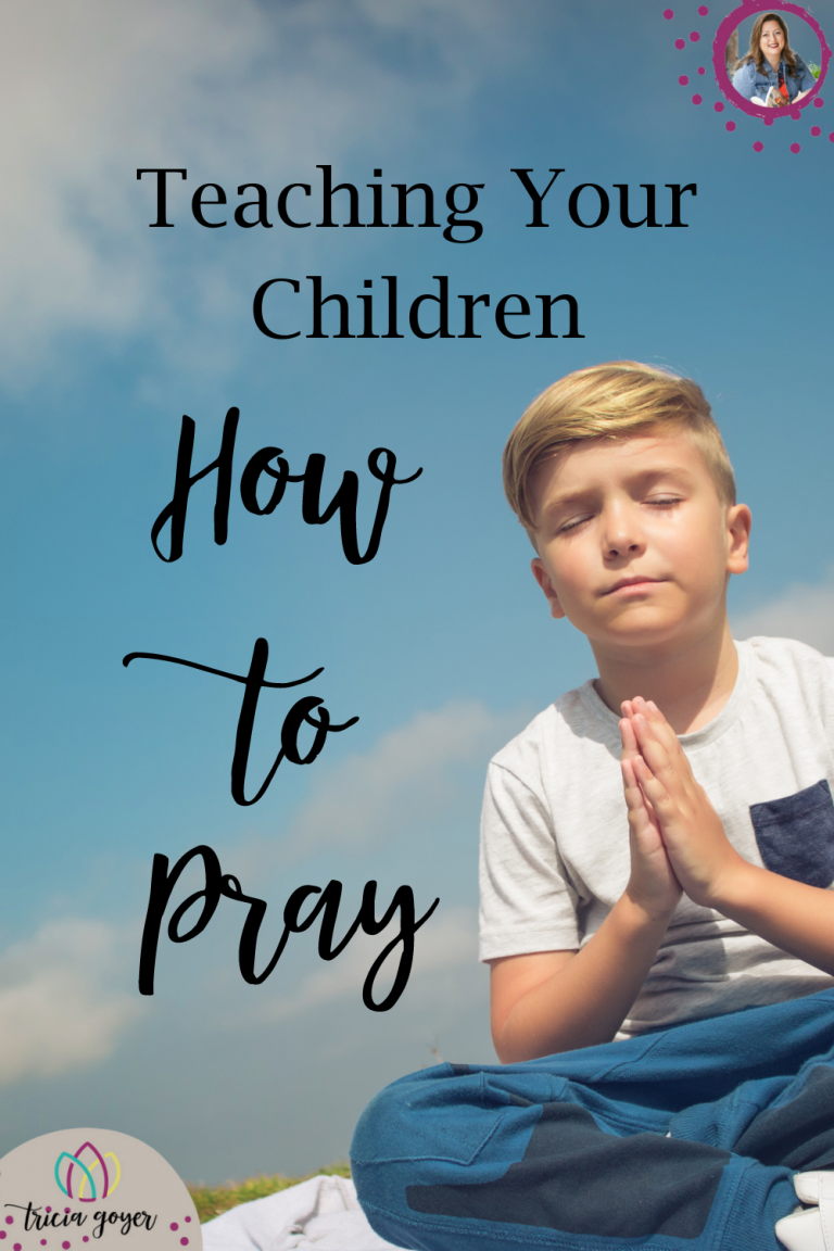 """Today I want to talk about teaching children how to pray. We certainly spend a lot of time teaching them how to put their clothes away, the toothpaste cap back on, and saying please and thank you. Scripture supports this idea of learning to pray. The disciples said in Luke 1:11b, """"Lord, teach us to pray, just as John taught his disciples."""""""