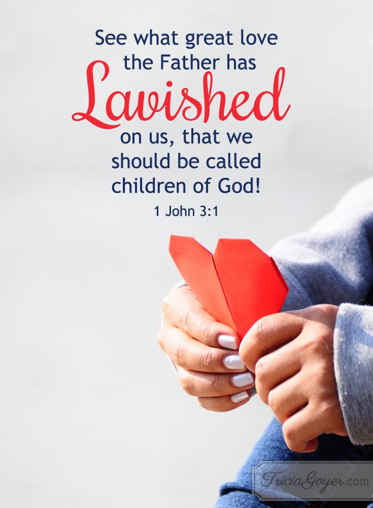 Lavished | 1 John 3:1