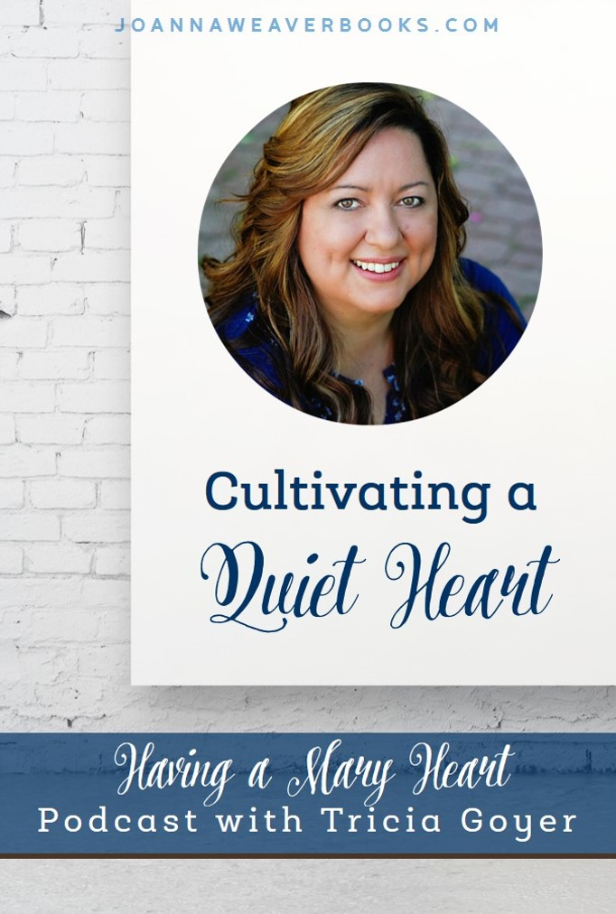 Cultivating a Quiet Heart {Having a Mary Heart Podcast}