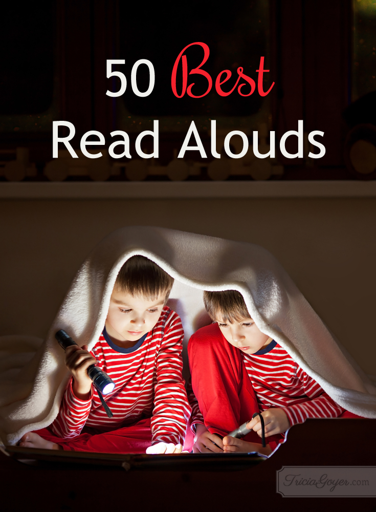 Best Read Alouds {Picture & Chapter Books}