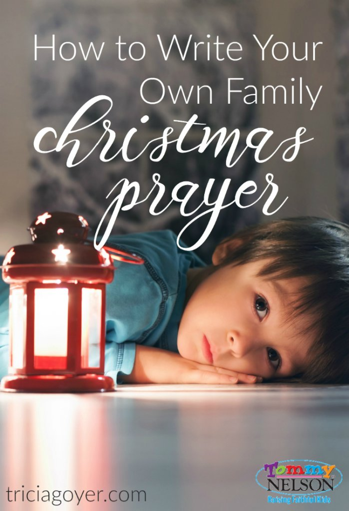 How To Write Your Own Family Christmas Prayer {Plus FREE Printable!}