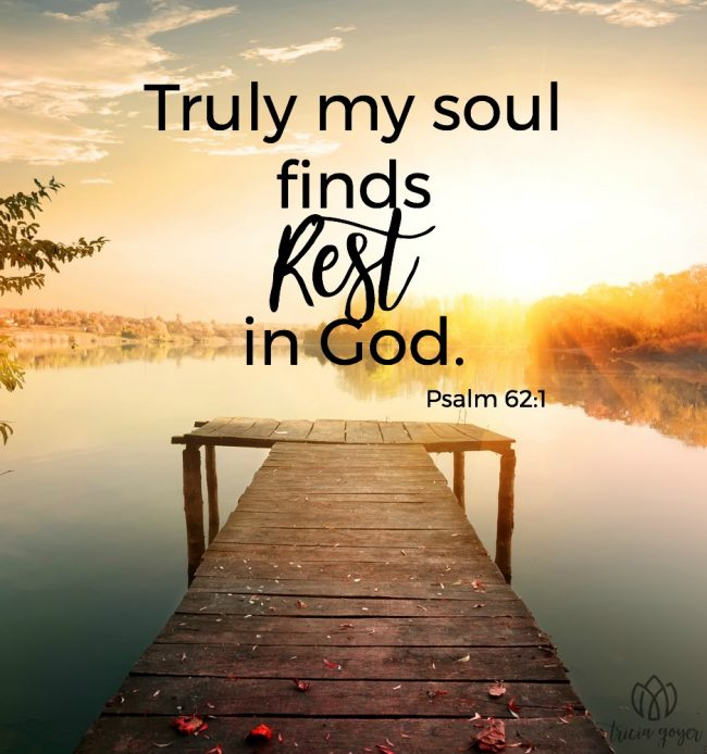 My Soul Finds Rest | Psalm 62:1-2