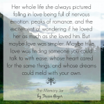 First Chapter Friday | The Memory Jar | Instagram Share 3