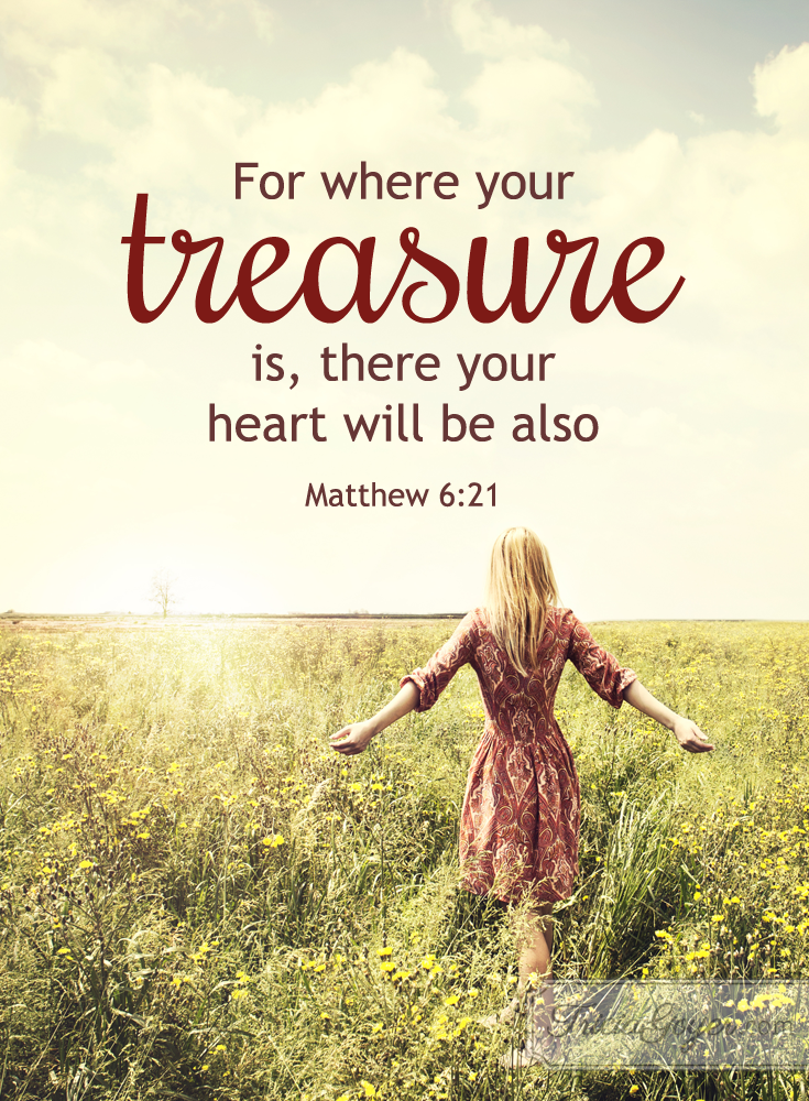 Treasure | Matthew 6:19-21