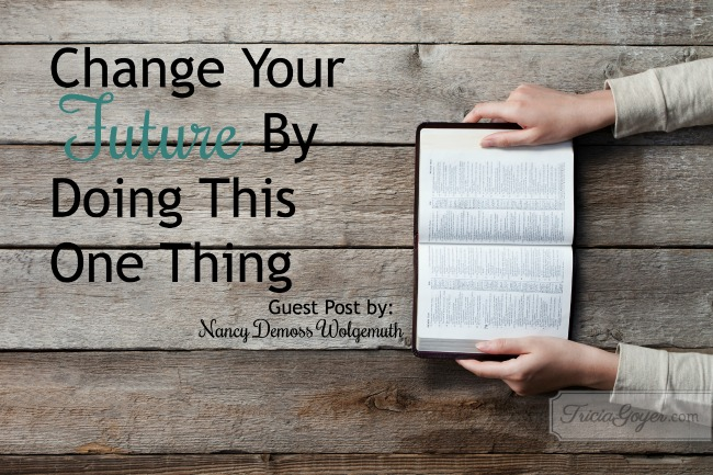 Change Your Future By Doing This One Thing | Guest Post