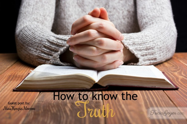 How to Know the Truth | Guest Post {+ Giveaway}
