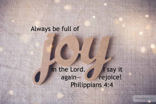 Philippians 4:4 — Saturday Scripture