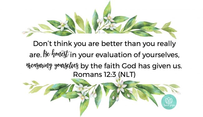 humble | romans 12:3