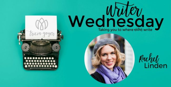 Writer Wednesday with Rachel Linden