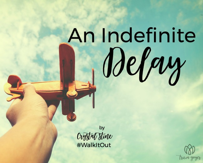 walk it out story an indefinite delay crystal stine