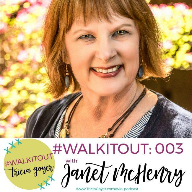 #WALKITOUT 003: Janet McHenry