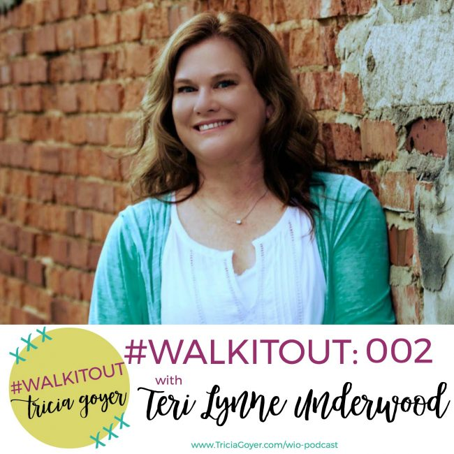 #WALKITOUT 002: Teri Lynne Underwood