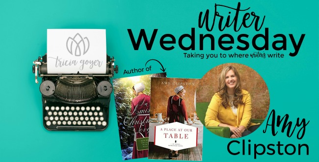 Writer Wednesday: Amy Clipston