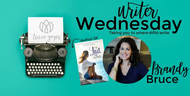 Writer Wednesday with Brandy Bruce