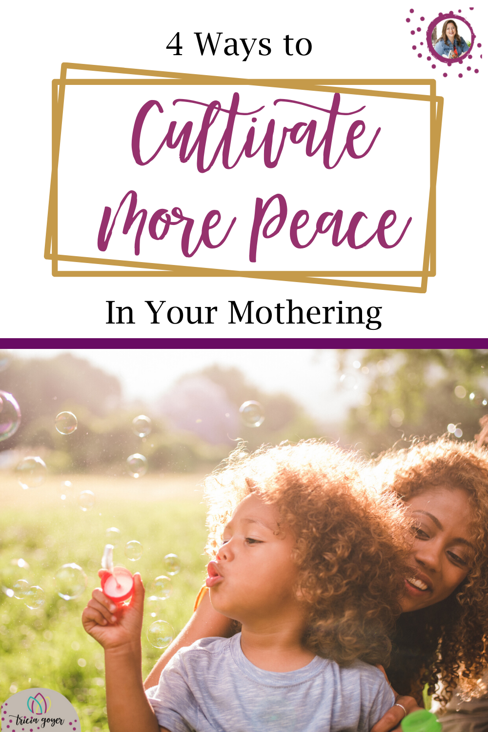 Does it seem impossible when you think about how to cultivate more peace in your home? Read on as Rebekah Hargraves shares 4 practical ways you can begin today.