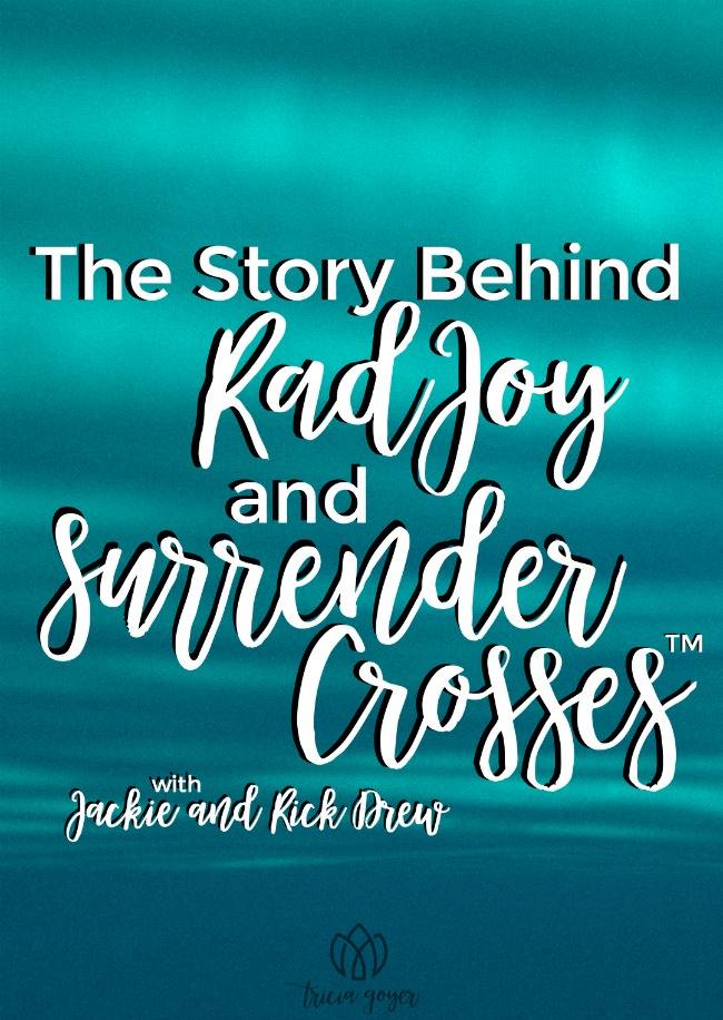 The Story Behind Rad Joy: How Our Surrender Cross Changes Everything
