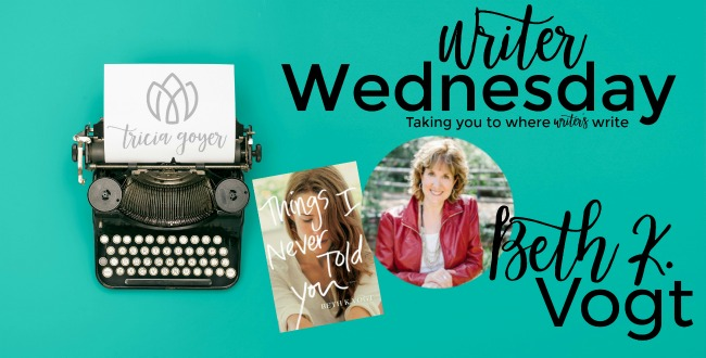 Writer Wednesday with Beth K. Vogt