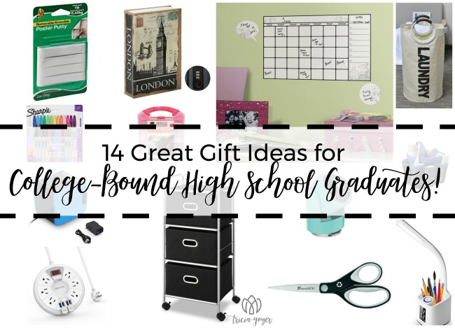 14 Great Gift Ideas for College-Bound High School Graduates!