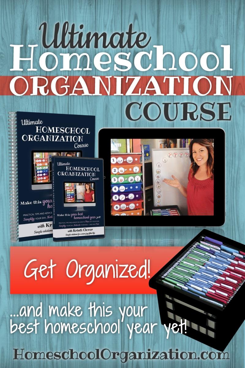 Homeschool Organization with Kristi Clover