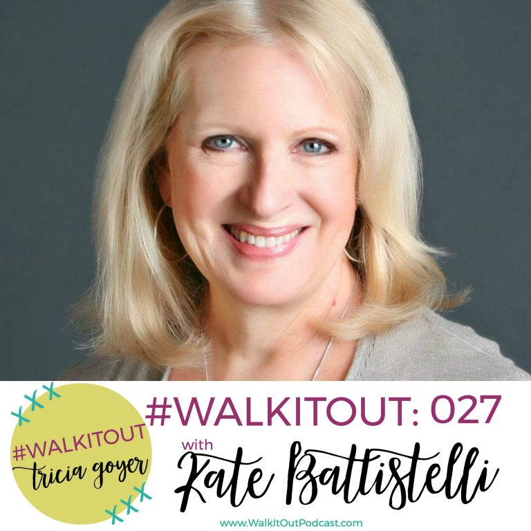 #WalkItOut Podcast 027: Kate Battistelli