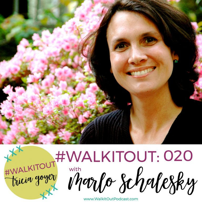 #WalkItOut Podcast #020: Marlo Schalesky