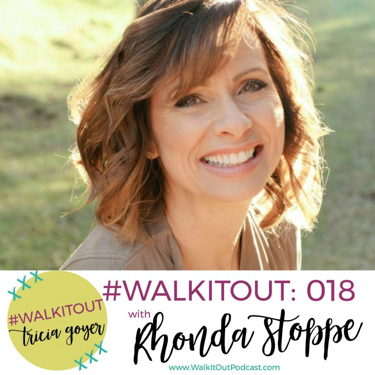 #WalkItOut Podcast 018: Rhonda Stoppe