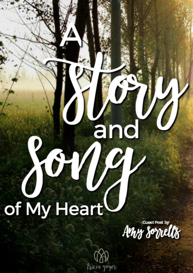 Before I Saw You: A Story and Song of My Heart | Amy Sorrells