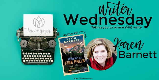 Writer Wednesday with Karen Barnett