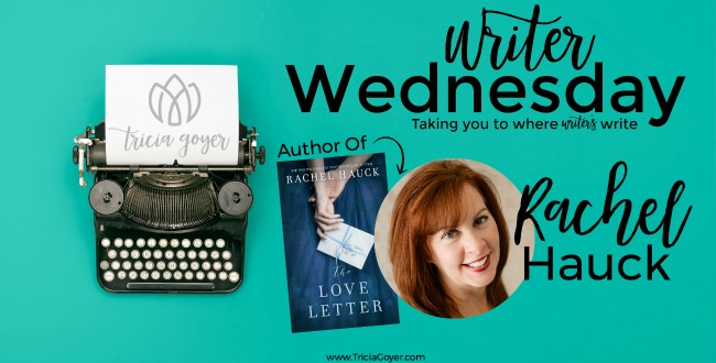 Writers Wednesday with Rachel Hauck