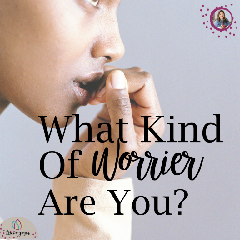 What kind of worrier are you?