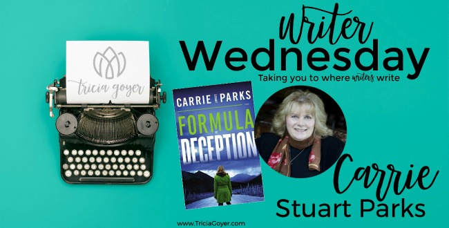 Writers Wednesday with Carrie Stuart Parks