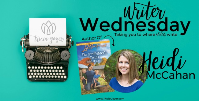Writer Wednesday with Heidi McCahan