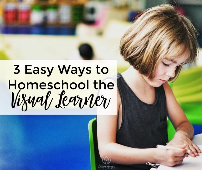 3 Easy Ways to Homeschool the Visual Learner