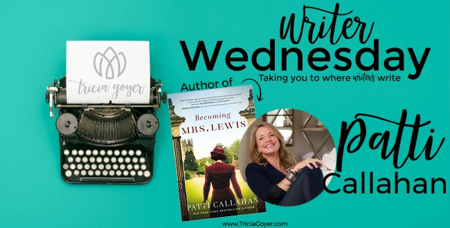 Writer Wednesday with Patti Callahan