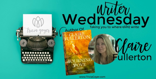 Writer Wednesday with Claire Fullerton