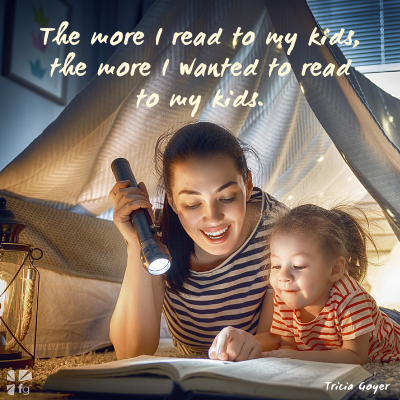 The Importance of Reading Aloud to Kids (and Getting Truth Deep In Their Hearts!)