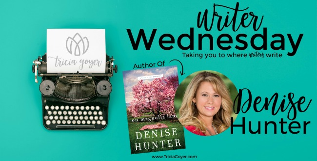 Writer Wednesday with Denise Hunter