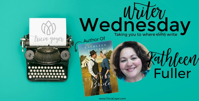 Writer Wednesday with Kathleen Fuller