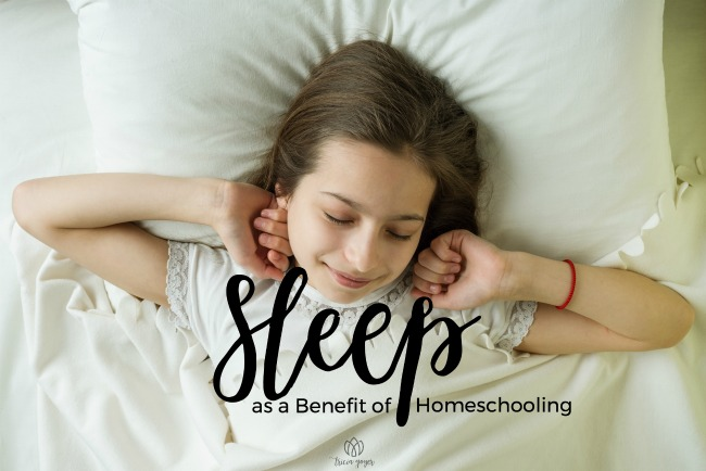 Sleep as a Benefit of Homeschooling