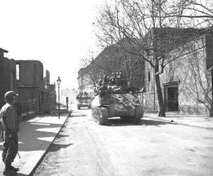 WWII Allied tanks