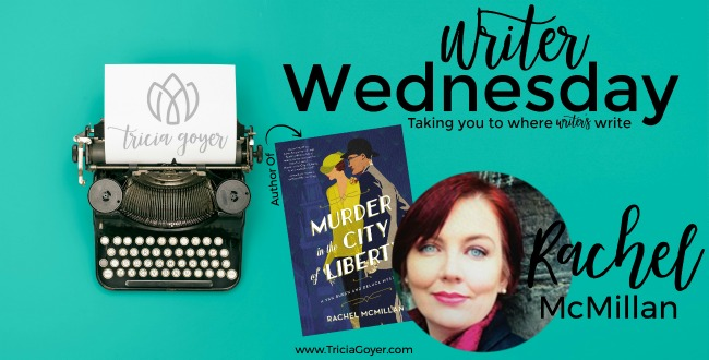Today on Writer Wednesday, Rachel McMillan shares books she reads plus is giving away a copy of her new book, Murder in the City of Liberty!
