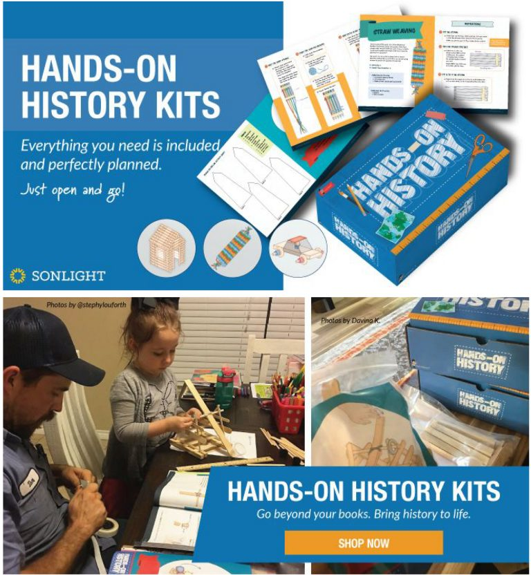 Sonlight's Hands-On History Kits