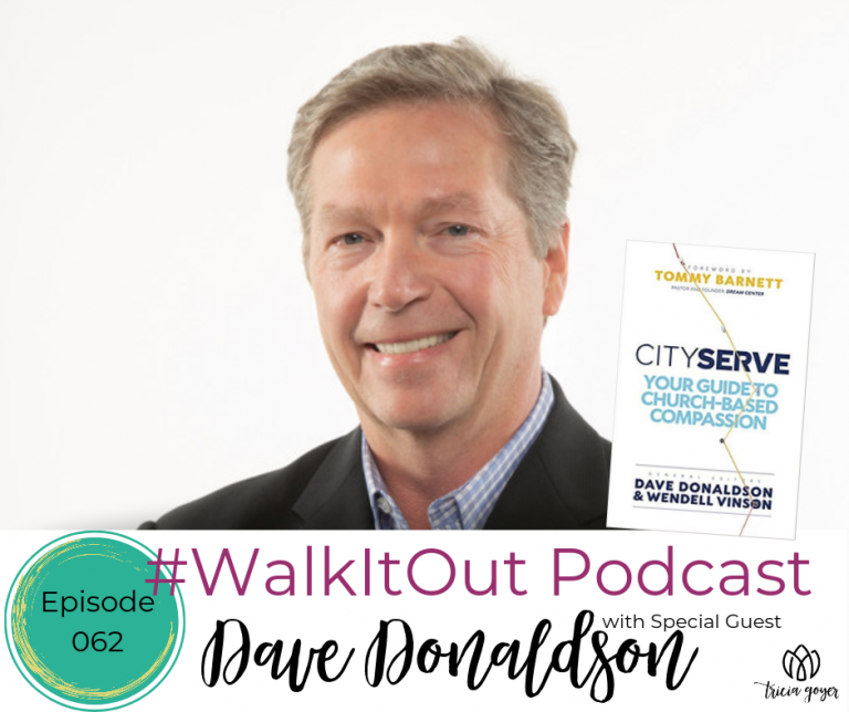 #WalkItOut Podcast 62: Dave Donaldson author of new book City Service