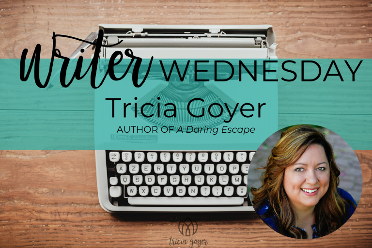 On today's Writer Wednesday, Tricia Goyer shares a little of the real life story behind A Daring Escape.