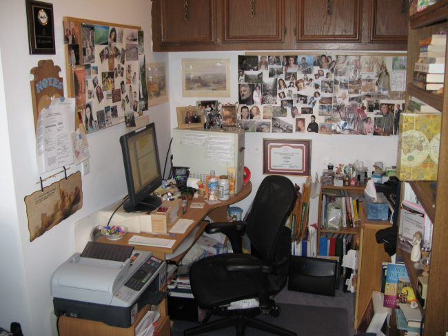On today's Writer Wednesday, author Jill Eileen Smith shares her writing space.