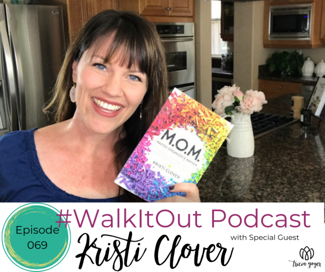 Today on #WalkItOut Podcast we're chatting with Kristi Clover author of new book M.O.M.!